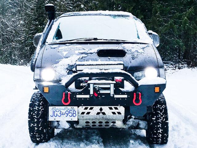 Mitsubishi Delica front bumper