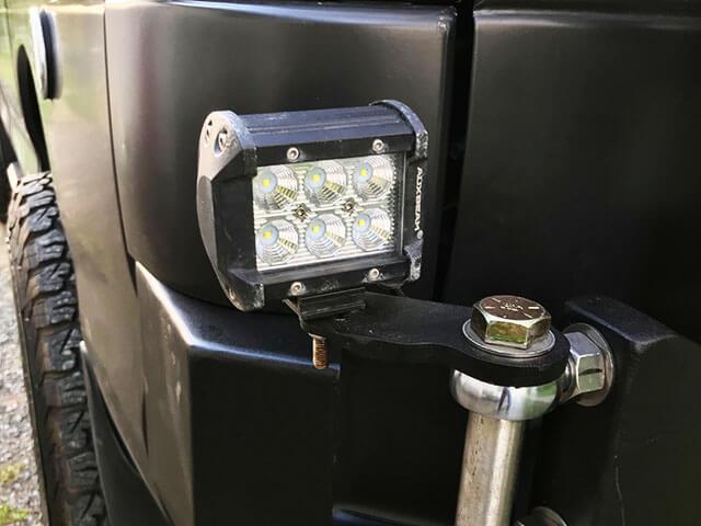 Auxbeam Side & back LED light