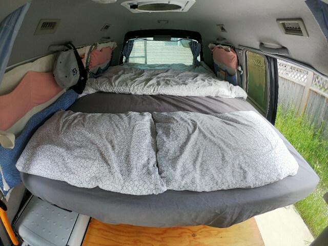 Mitsubishi Delica Bed