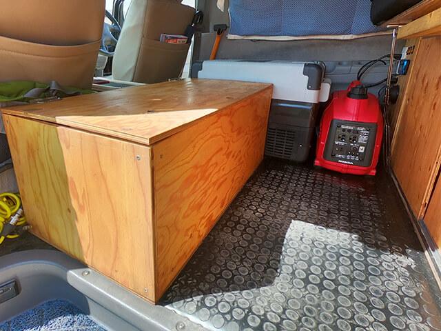 Mitsubishi Delica Flooring